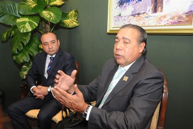 Julio Miguel Silva y Fermín Acosta