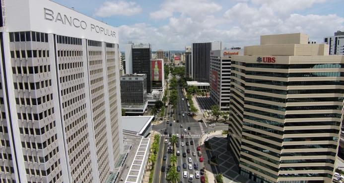 El distrito financiero de Puerto Rico, en San Juan
