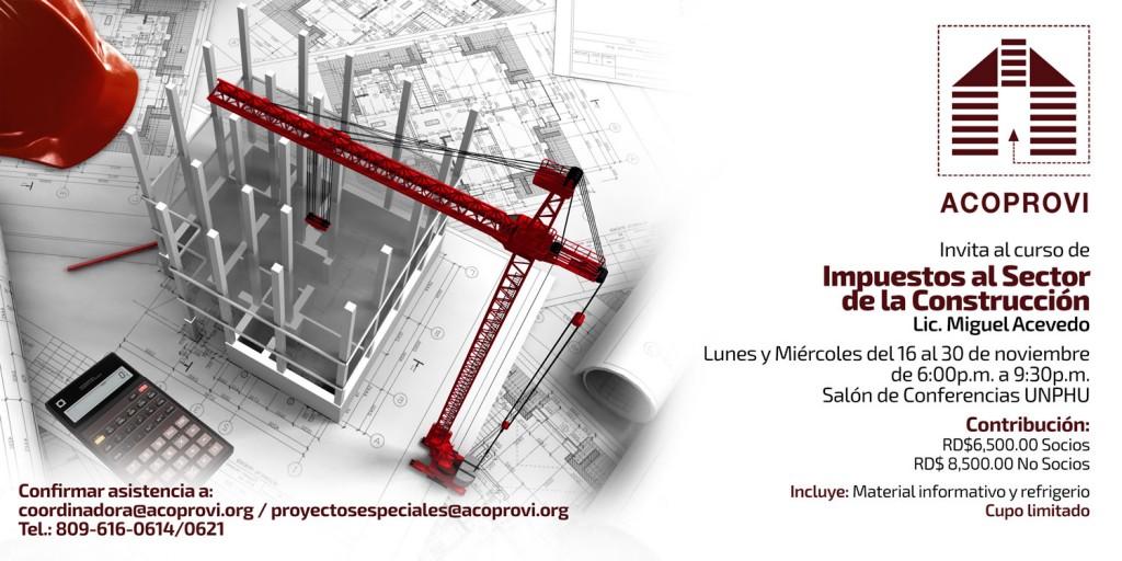 Curso de Impuestos al Sector de la  Construcción