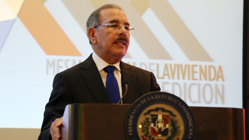 Danilo Medina 5ta Mesa Nacional de la Vivienda