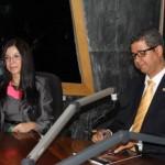 Héctor Bretón e Irene Campos en la Z101