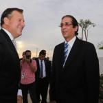Presidente panameño impresionado con Ciudad Juan Bosch