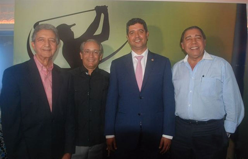 Francisco González, Félix Olivo, Héctor Bretón y Fermin Acosta