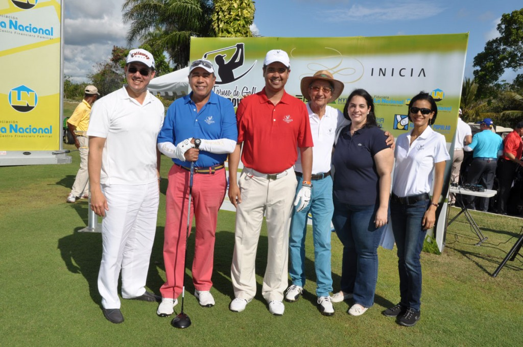 Fausto Díaz, Fermín Acosta, Héctor Bretón, Francisco González, Vivian Reyes y Merielin Almonte