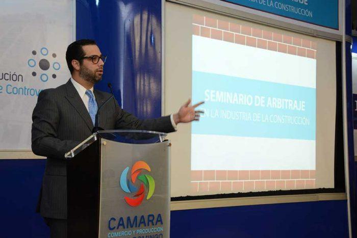 Manuel Luna, presidente del Centro de Resolución Alternativa de Controversias