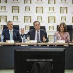 Héctor-Valdez-Albizu,-habló-junto-al-ministro-de-Hacienda-y-funcionarios-del-BC