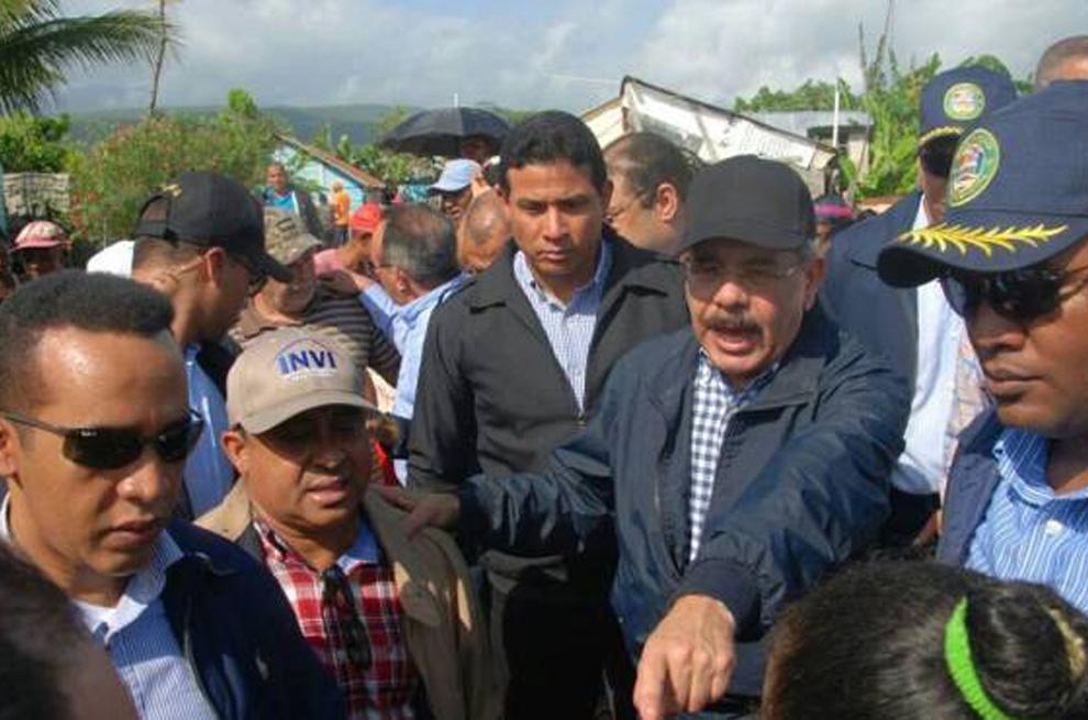 Danilo-Medina-salió-hoy-a-zonas-afectadas-por-huracán-María