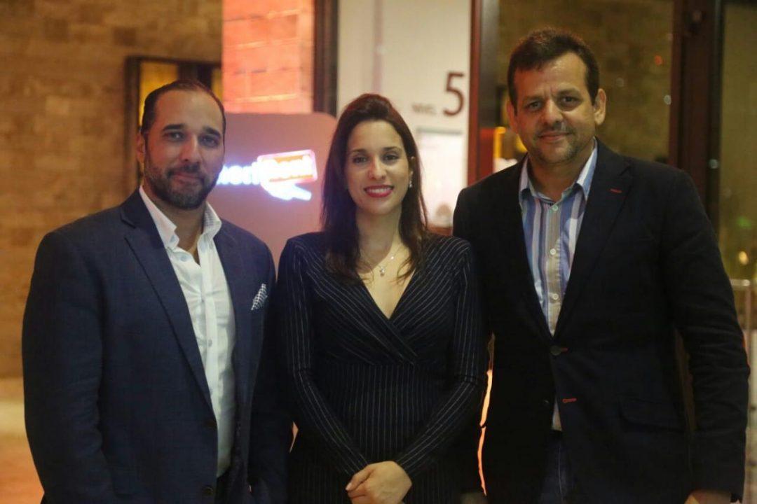 Ernesto Mejía, Annerys Meléndez y Erick Bueno